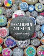 Kreationen auf Stein: Über 40 Mandalas und von der Natur inspirierte Designs