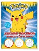 Pokémon: Zeichne Pokémon Schritt für Schritt