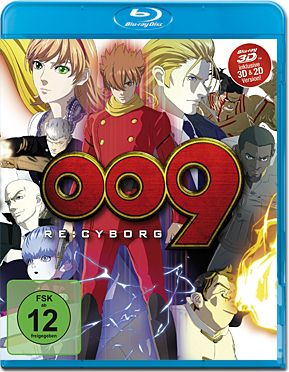 009 Re: Cyborg Blu-ray 3D