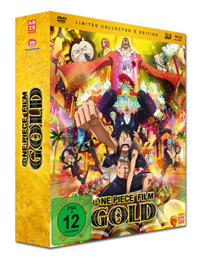 One Piece: Der 12. Film - Gold - Collector's Edition Blu-ray 3D (3 Discs)