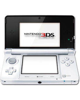 Nintendo 3DS -Ice White-