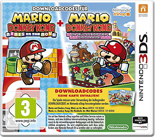 Mario & Donkey Kong: Move & March (Code in a Box)