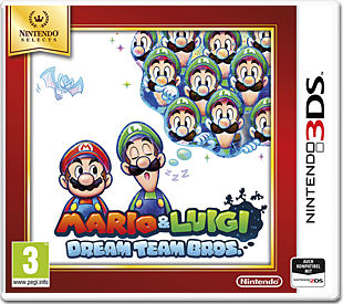 Mario & Luigi 4: Dream Team Bros.