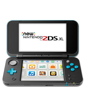 New Nintendo 2DS XL -Black Turquoise-