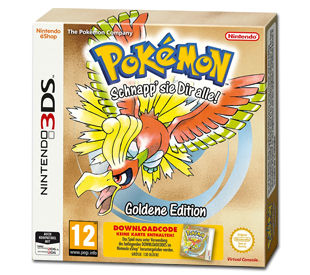 Pokémon - Goldene Edition (Code in a Box)