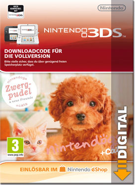 Nintendogs + Cats: Zwergpudel