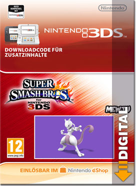 Super Smash Bros. for 3DS: Mewtu