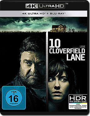 10 Cloverfield Lane Blu-ray UHD (2 Discs)