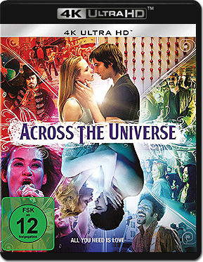 Across the Universe Blu-ray UHD