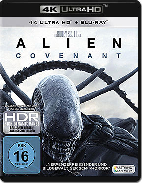 Alien: Covenant Blu-ray UHD (2 Discs)