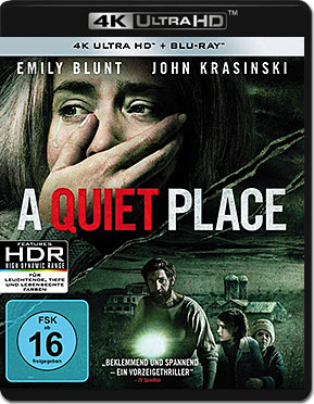 A Quiet Place Blu-ray UHD (2 Discs)