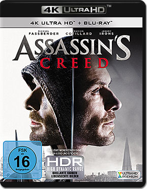 Assassin's Creed Blu-ray UHD (2 Discs)