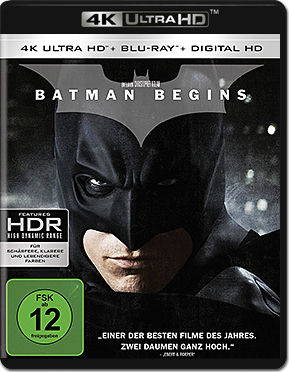 Batman Begins Blu-ray UHD (2 Discs)