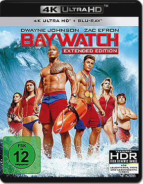 Baywatch - Extended Edition Blu-ray UHD (2 Discs)