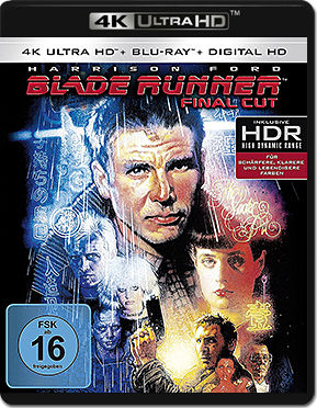 Blade Runner - Final Cut Blu-ray UHD (2 Discs)