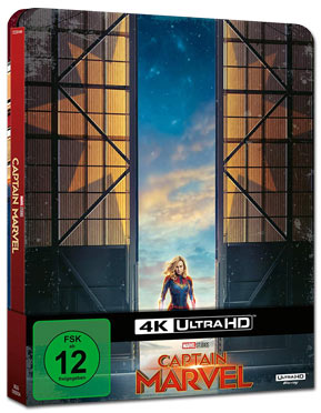 Captain Marvel - Steelbook Edition Blu-ray UHD (2 Discs)