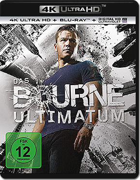 Das Bourne Ultimatum Blu-ray UHD (2 Discs)