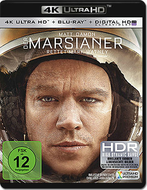 Der Marsianer: Rettet Mark Watney Blu-ray UHD (2 Discs)