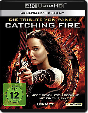 Die Tribute von Panem: Catching Fire Blu-ray UHD (2 Discs)