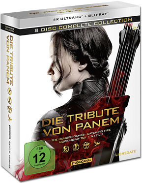 Die Tribute von Panem - Complete Collection Blu-ray UHD (8 Discs)