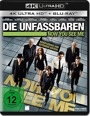 Now You See Me - Die Unfassbaren Blu-ray UHD (2 Discs)