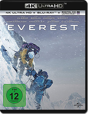 Everest Blu-ray UHD (2 Discs)