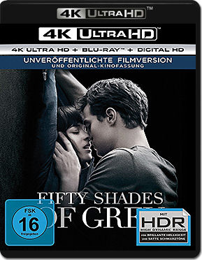 Fifty Shades of Grey: Geheimes Verlangen Blu-ray UHD (2 Discs)