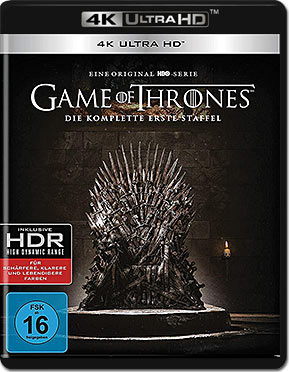 Game of Thrones: Staffel 1 Blu-ray UHD (4 Discs)