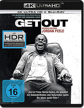 Get Out Blu-ray UHD (2 Discs)