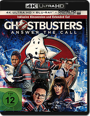 Ghostbusters (2016) - Extended Edition Blu-ray UHD (2 Discs)