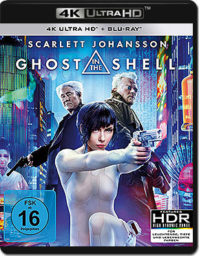 Ghost in the Shell (2017) Blu-ray UHD (2 Discs)