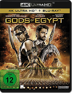 Gods of Egypt Blu-ray UHD (2 Discs)