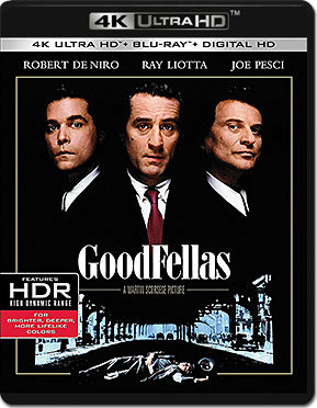 GoodFellas Blu-ray UHD (2 Discs)