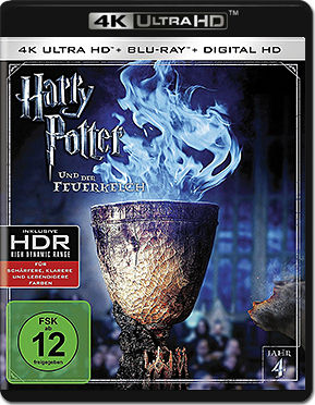 Harry Potter 4: Der Feuerkelch Blu-ray UHD (2 Discs)