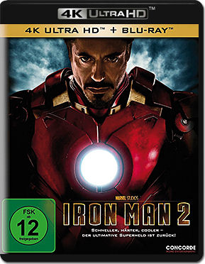 Iron Man 2 Blu-ray UHD (2 Discs)
