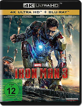 Iron Man 3 Blu-ray UHD (2 Discs)