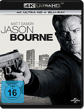 Jason Bourne Blu-ray UHD (2 Discs)