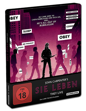 Sie leben - Collector's Edition Blu-ray UHD (3 Discs)