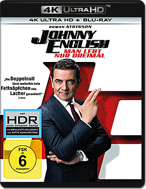 Johnny English: Man lebt nur dreimal Blu-ray UHD (2 Discs)