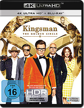 Kingsman: The Golden Circle Blu-ray UHD (2 Discs)