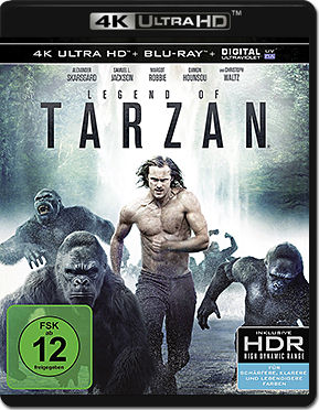 Legend of Tarzan Blu-ray UHD (2 Discs)