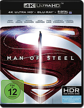 Man of Steel Blu-ray UHD (2 Discs)