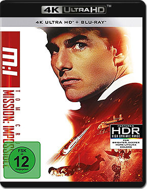 Mission: Impossible 1 Blu-ray UHD (2 Discs)