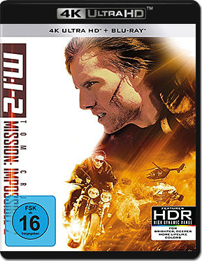 Mission: Impossible 2 - M:I-2 Blu-ray UHD (2 Discs)