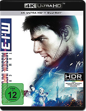 Mission: Impossible 3 - M:I-3 Blu-ray UHD (2 Discs)