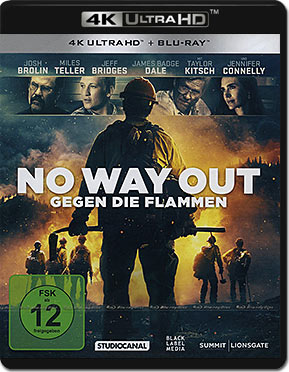 No Way Out: Gegen die Flammen Blu-ray UHD (2 Discs)