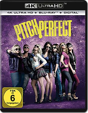 Pitch Perfect 1 Blu-ray UHD (2 Discs)