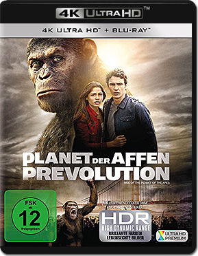 Planet der Affen: Prevolution Blu-ray UHD (2 Discs)