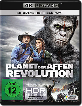 Planet der Affen: Revolution Blu-ray UHD (2 Discs)
