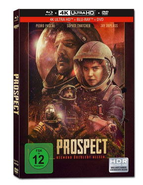 Prospect - Limited Collector's Edition Blu-ray UHD (3 Discs)